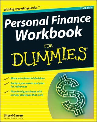 Personal Finance Workbook for Dummies By Garrett, Sheryl